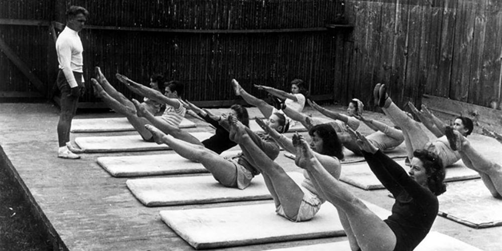 Первые упражнения пилатес, 1920-е годы