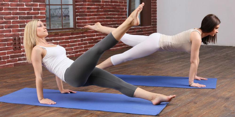 Упражнения в пилатес