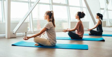 Польза йоги, занятия