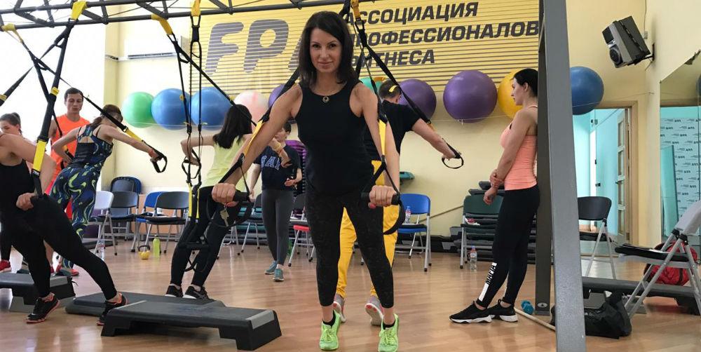 Наталья Малышева на обучении