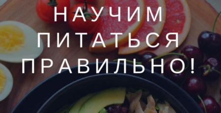 Разработка программы питания