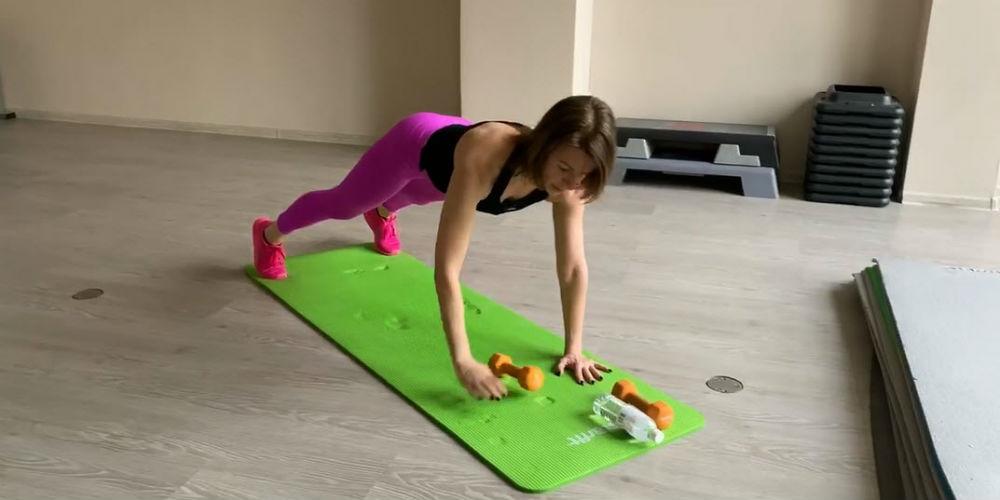 Функциональная круговая тренировка, 6 упражнений