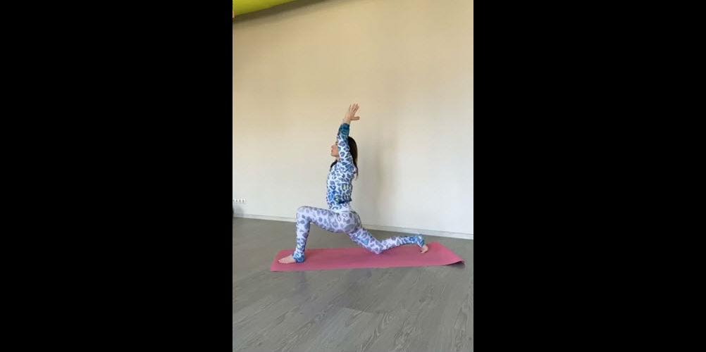 Занимаемся дома, йога, урок 6