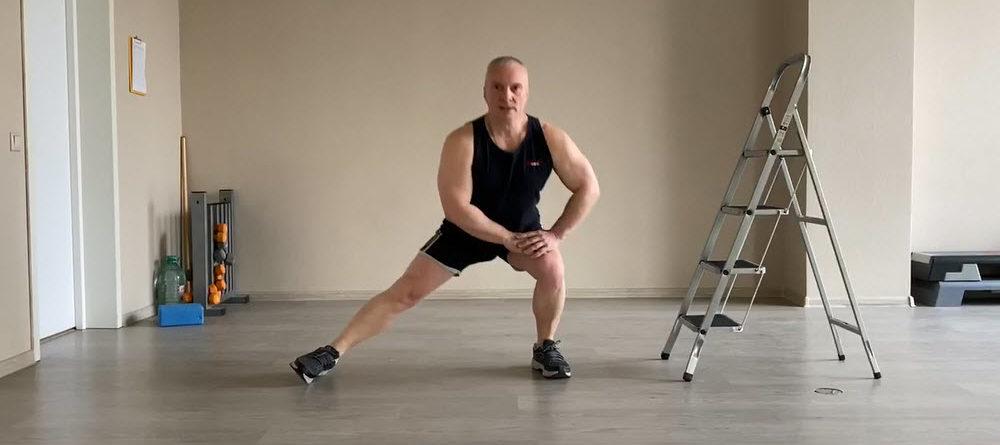 Тренируем ноги с Владимиром